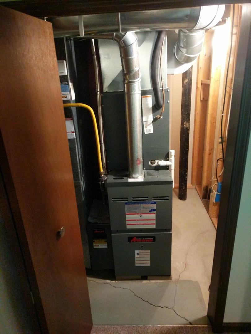 Port Huron, MI - Amana furnace tune up.