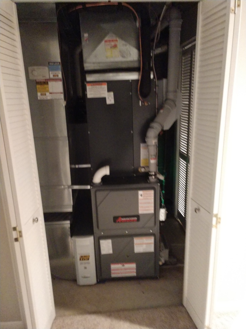 Fort Gratiot Township, MI - Installation of an Amana furnace and AC