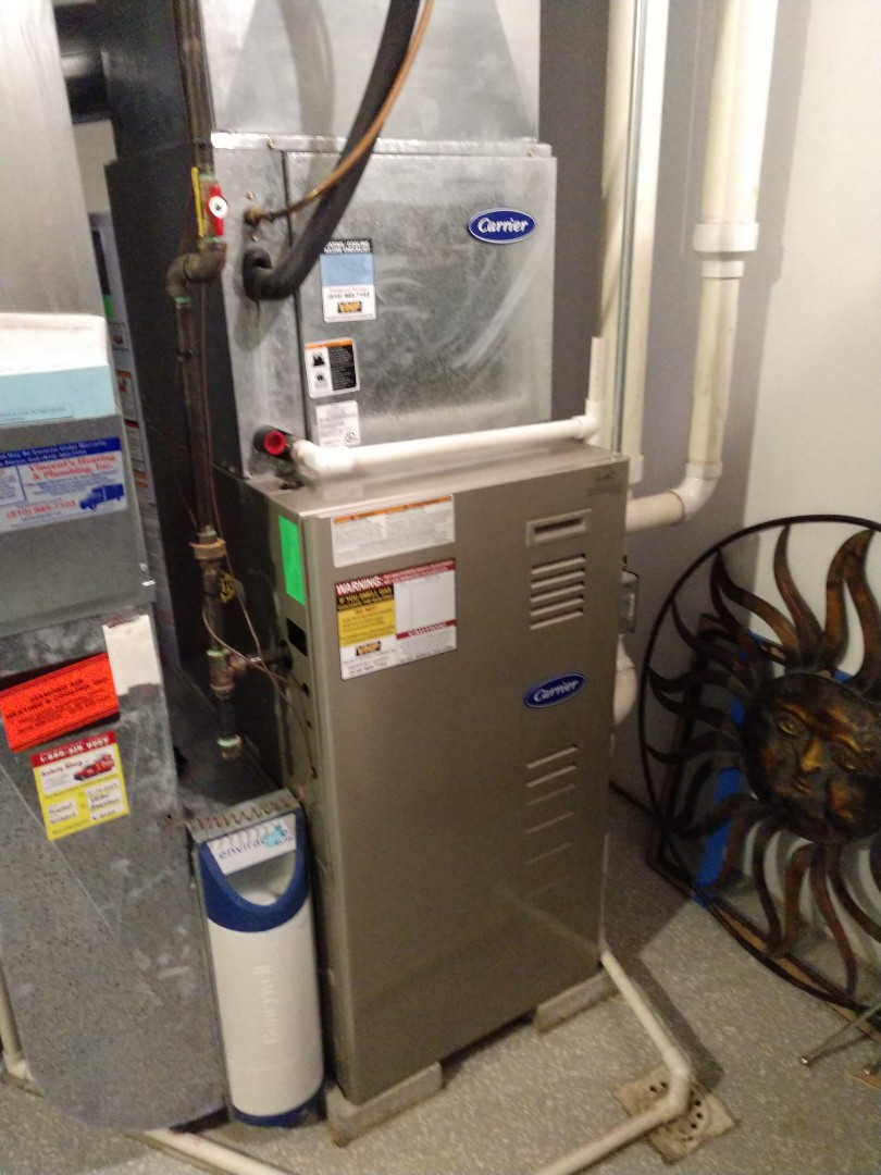 Avoca, MI - Maintenance tune up on Carrier furnace