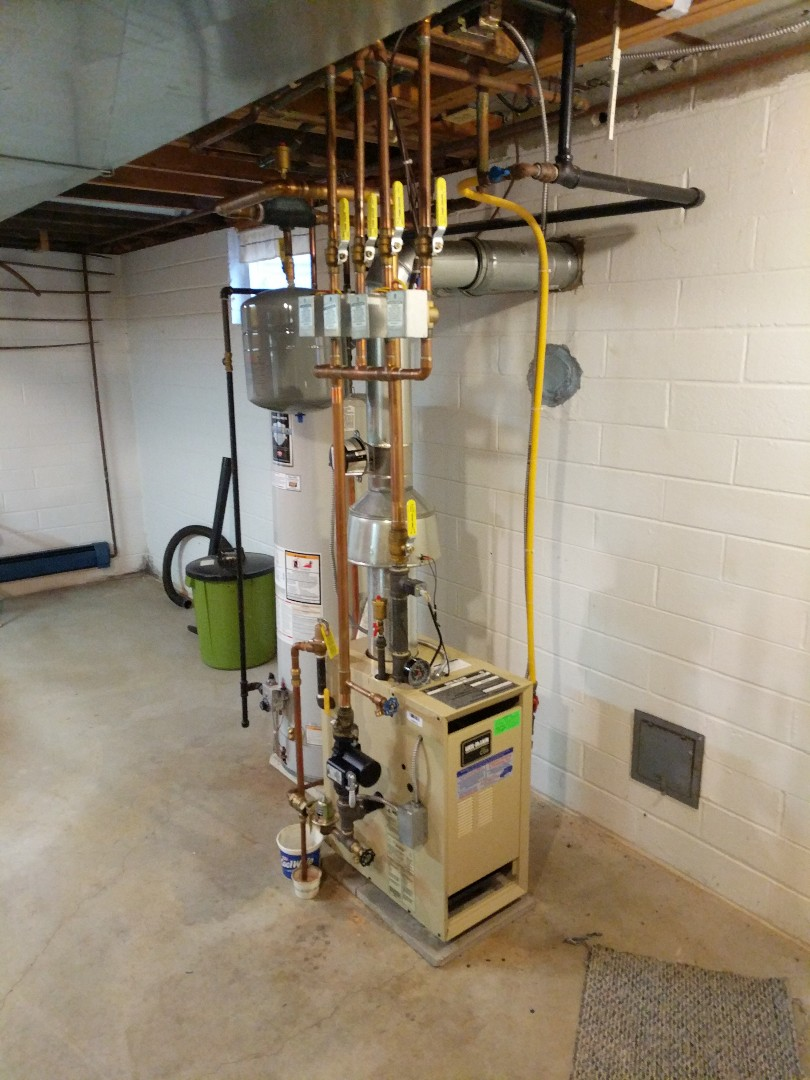 Yale, MI - Tune up on Weil McLain boiler.