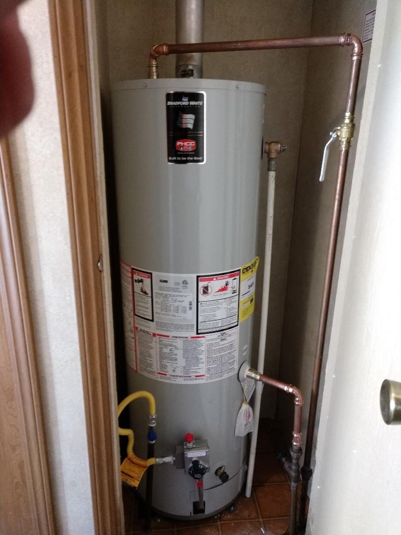 Marysville, MI - Installation of new hot water tank