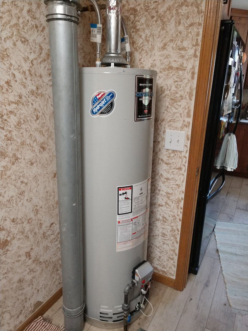 Avoca, MI - Installed new 40 gallon water heater
