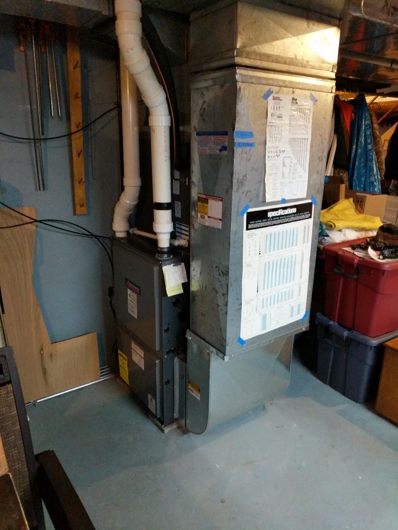 Marysville, MI - Amana furnace tune up and repair.