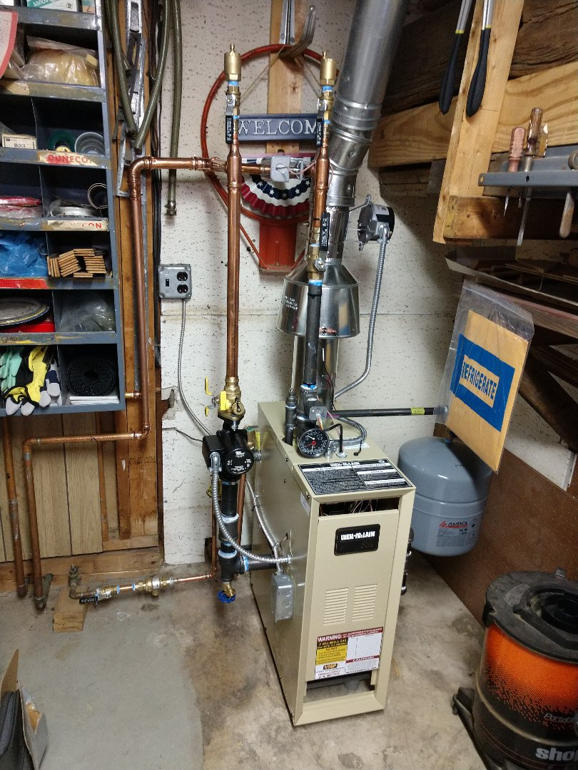 Fort Gratiot Township, MI - Inspection on newly installed boiler