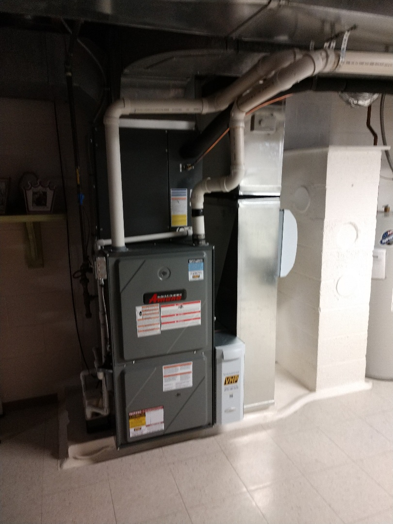 Fort Gratiot Township, MI - Installation of an Amana air conditioner