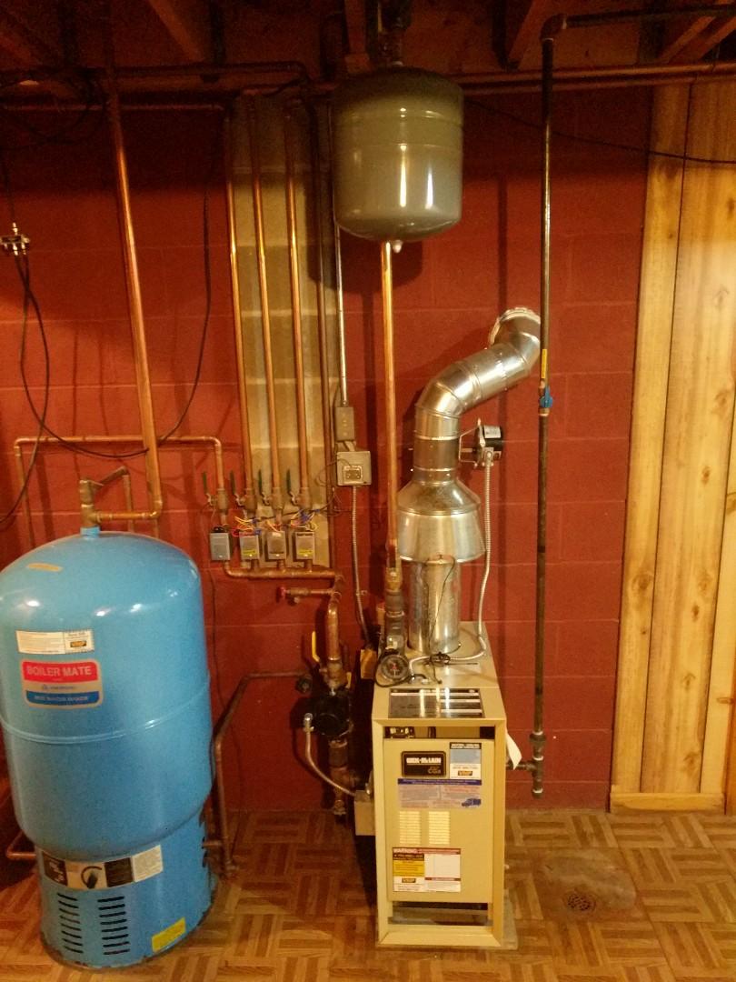 Marysville, MI - Repair zoning system on boiler.