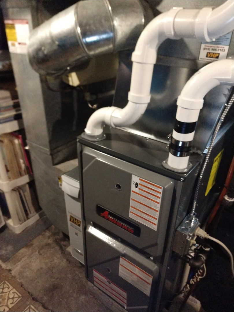 Marysville, MI - Inspection on newly installed Amana furnace