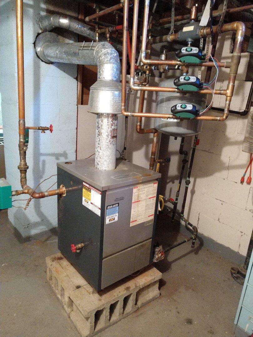 Kimball, MI - Maintenance tune up on Slant/Fin boiler