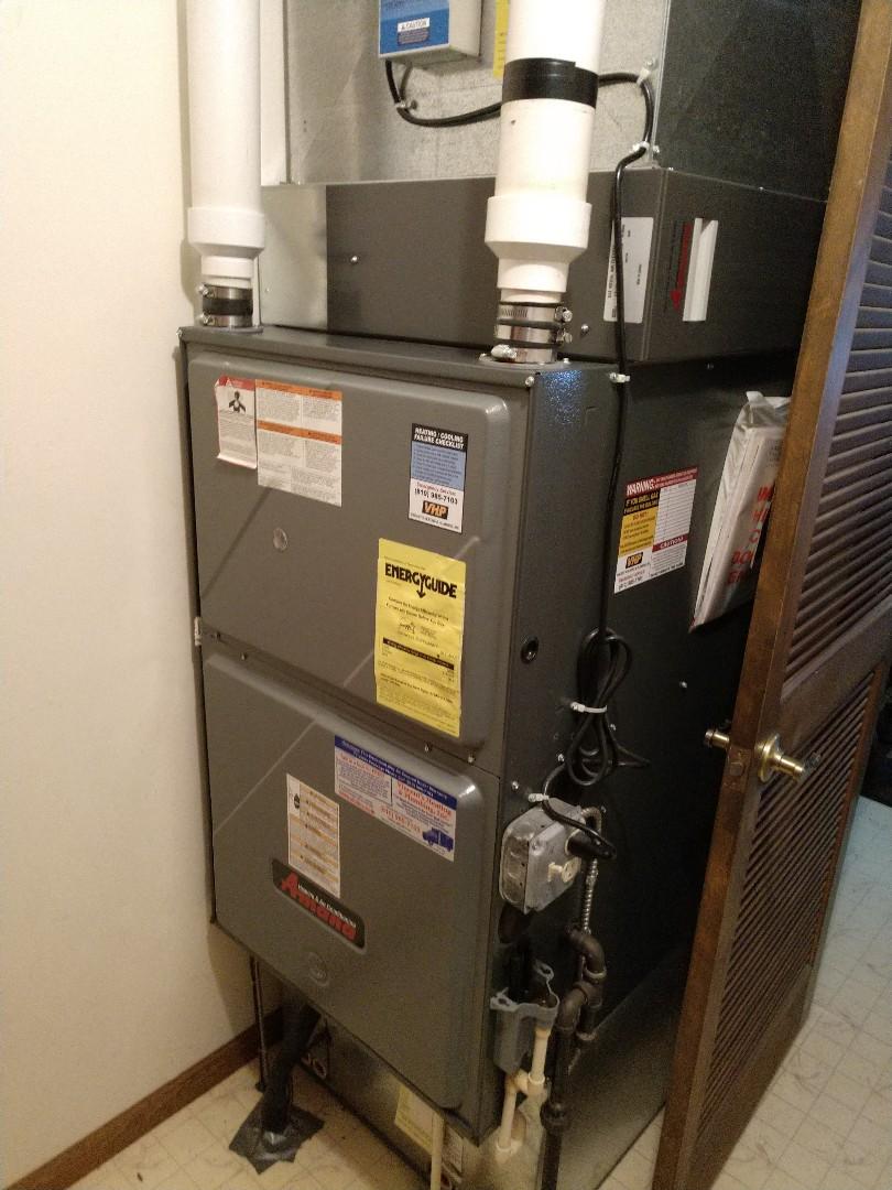Fort Gratiot Township, MI - Repair on Amana furnace
