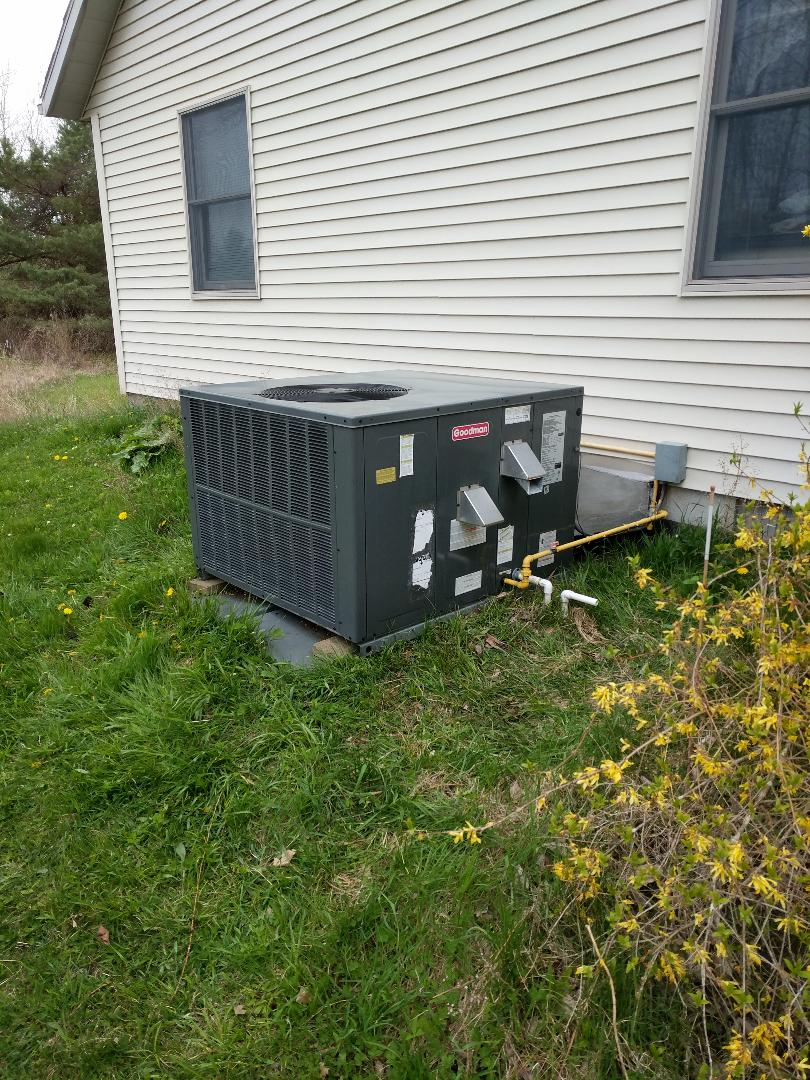 Fort Gratiot Township, MI - Goodman furnace and AC maintenance.
