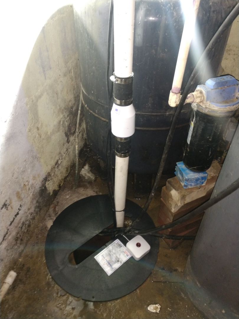 Avoca, MI - Premium sump pump installation.