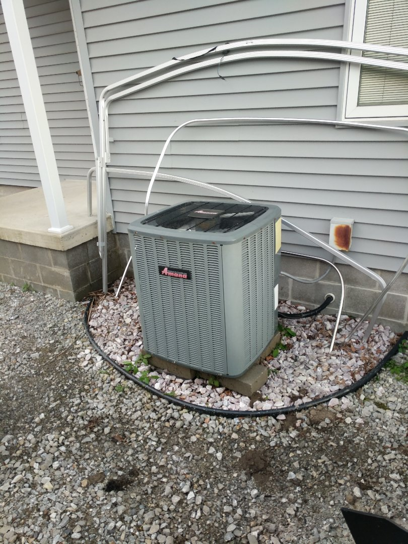 Clay Township, MI - Amana AC tune up and filter change.