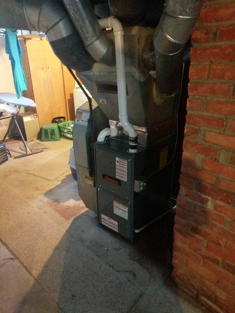 Port Huron, MI - Amana 96% furnace tune up.