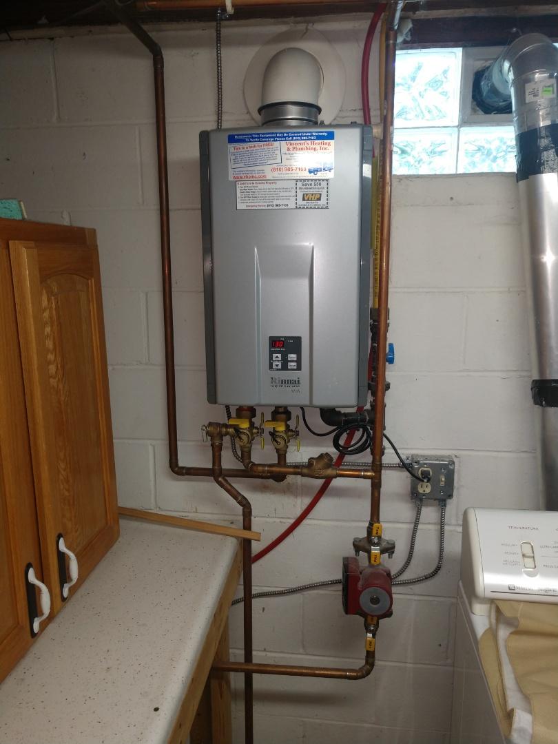 Goodells, MI - Water heater maintenance