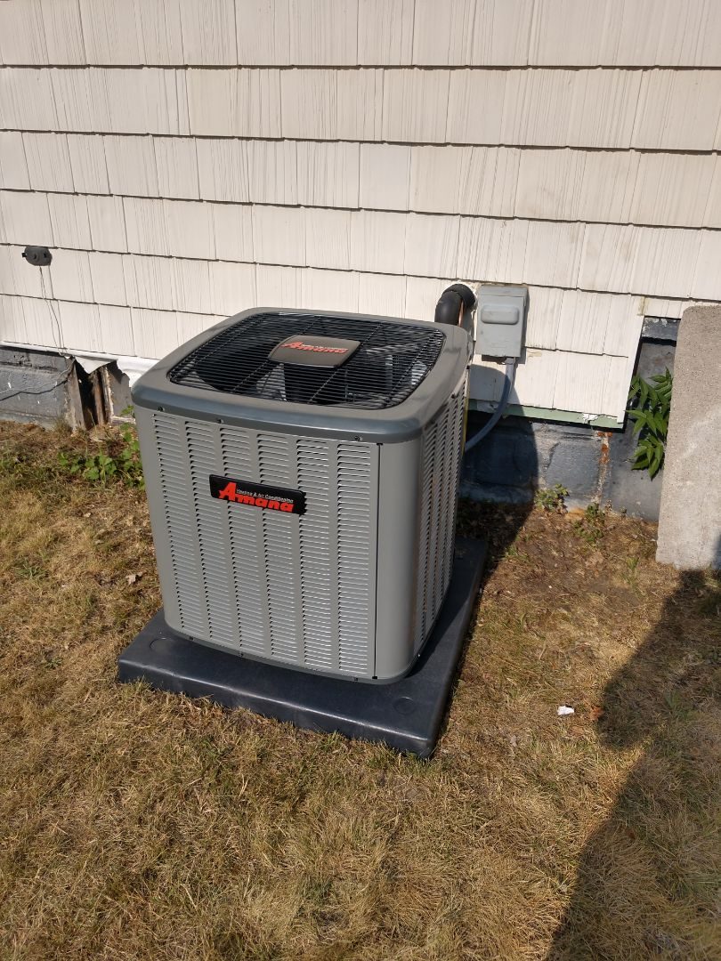 Croswell, MI - New Amana AC install customer satisfaction visit