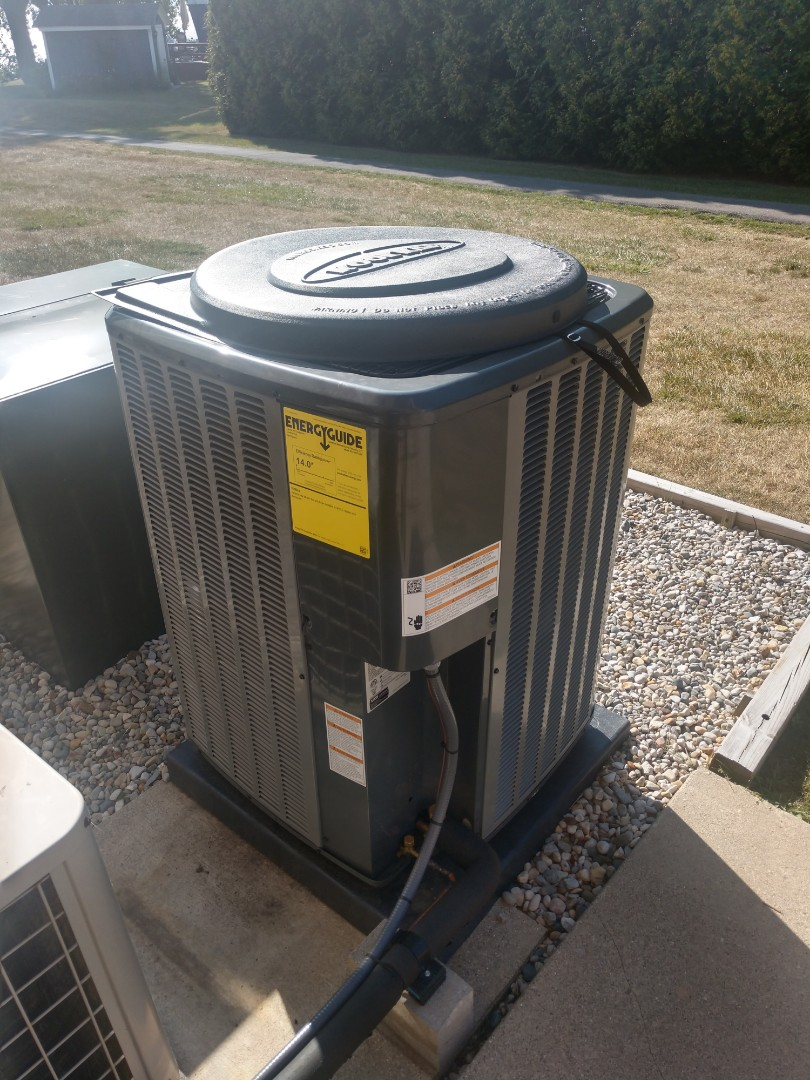 Lexington, MI - Platinum Amana AC install