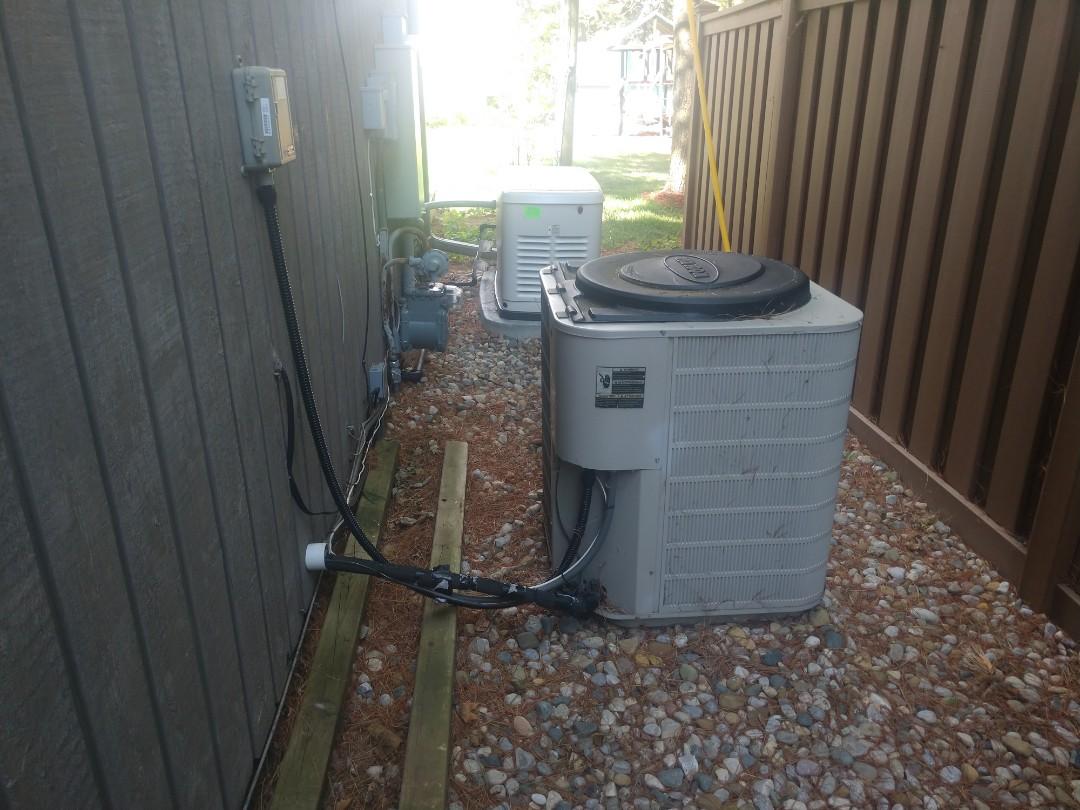 Lexington, MI - AC relocating