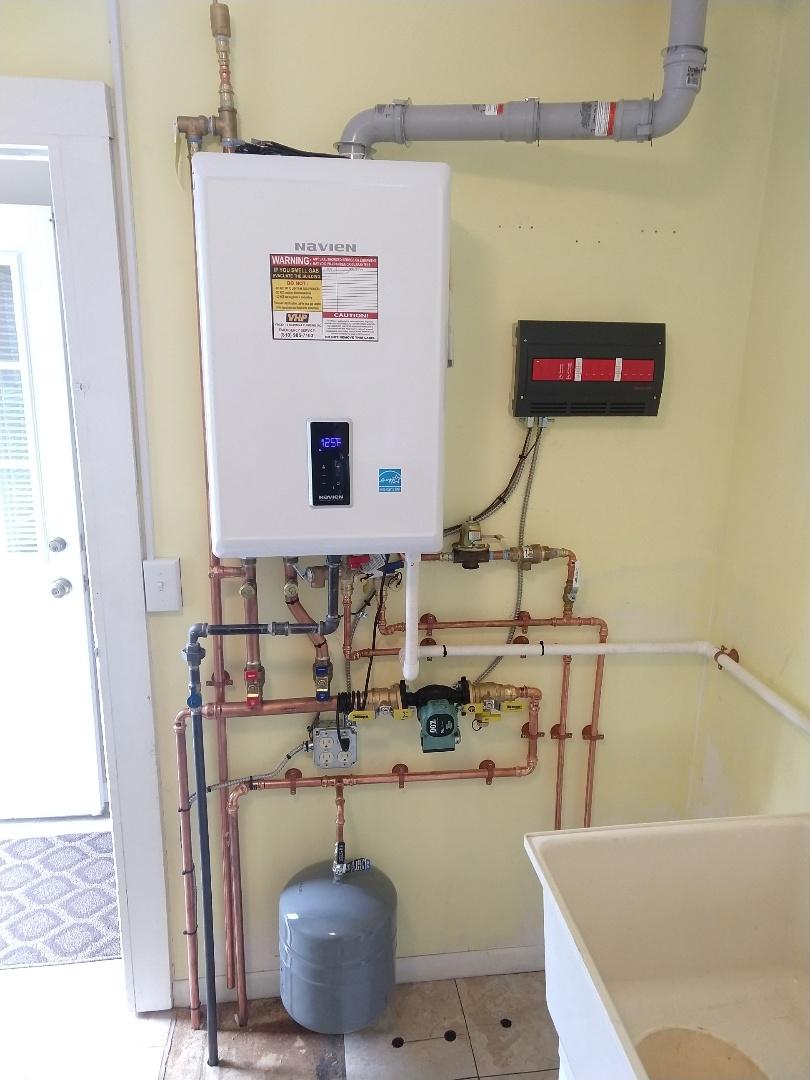 Fort Gratiot Township, MI - Navien Combi boiler installation