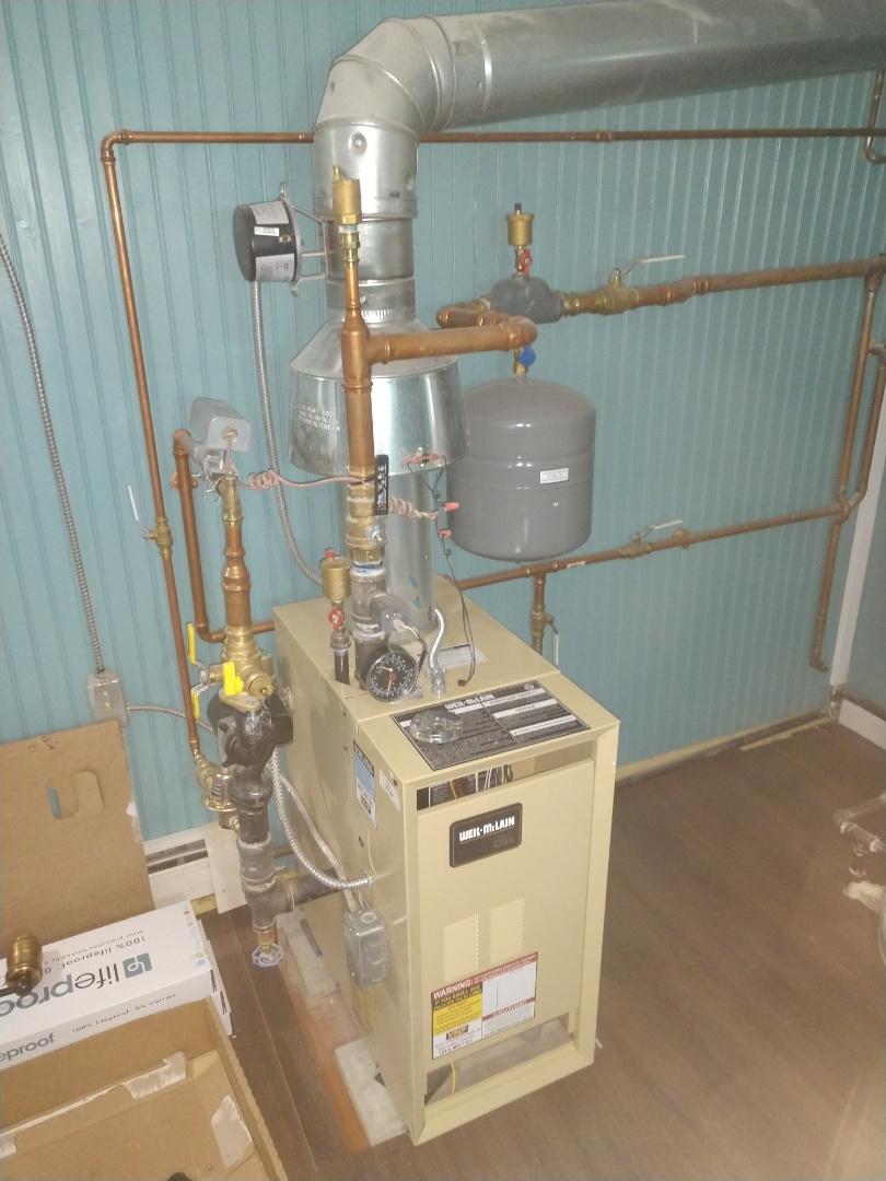 Lexington, MI - Weil McLain boiler tune up