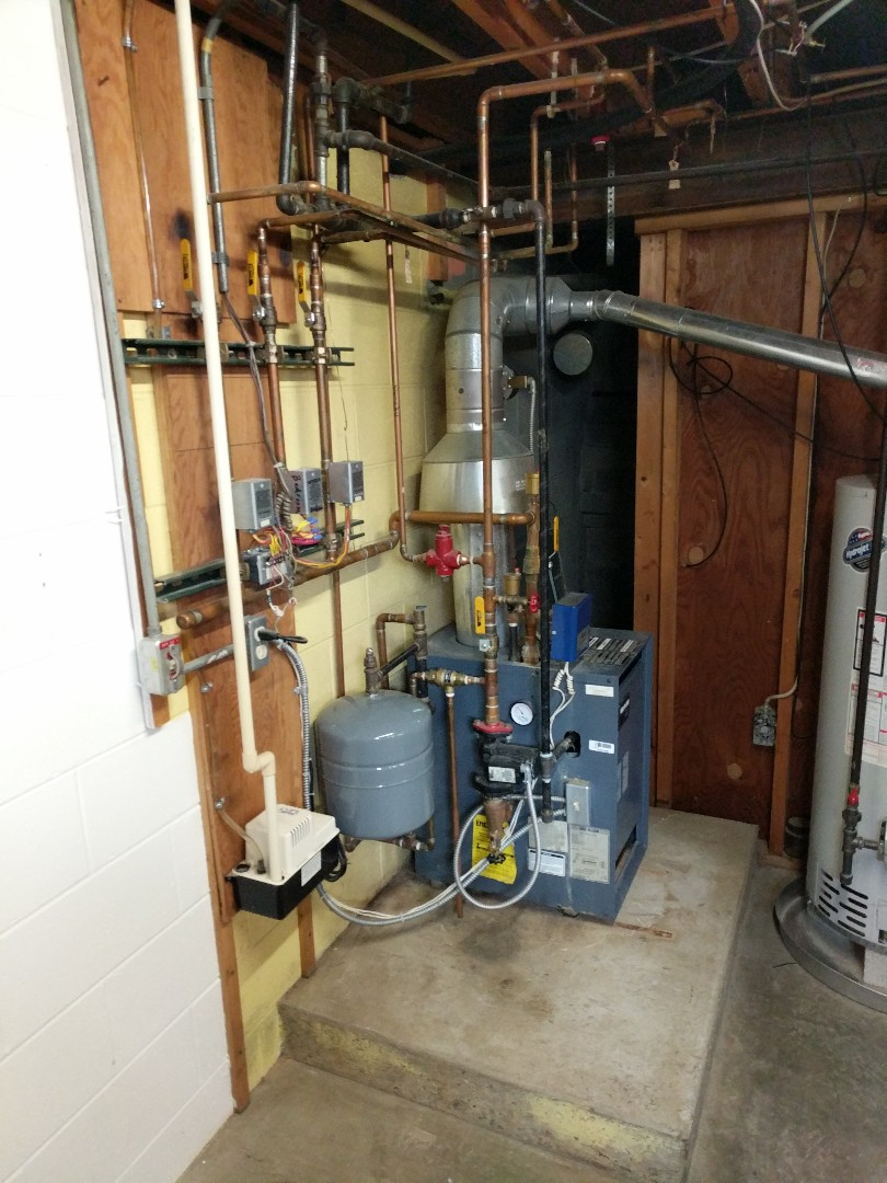 Port Huron, MI - Weil McLain boiler repair.