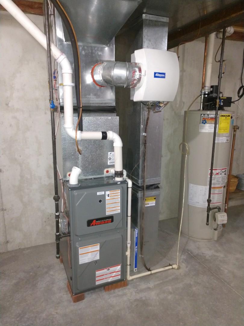 East China, MI - Amana furnace tune up