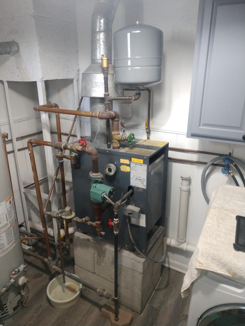 Lexington, MI - Boiler start up