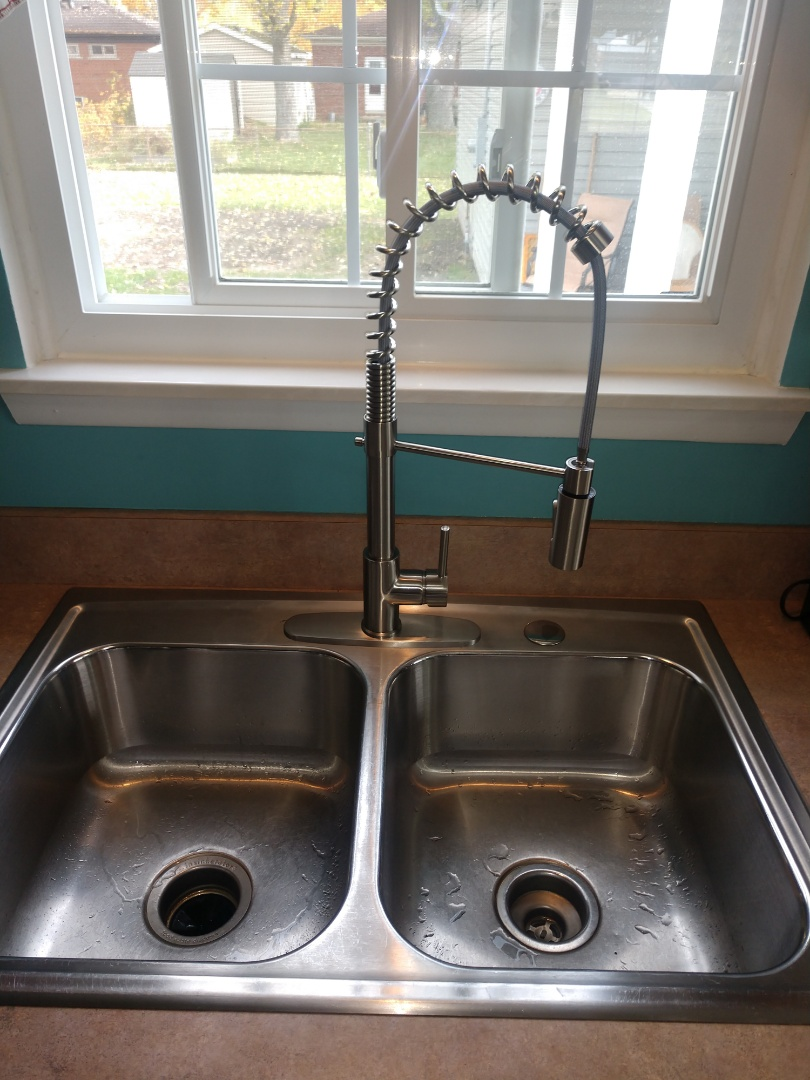 Marysville, MI - Kitchen faucet install