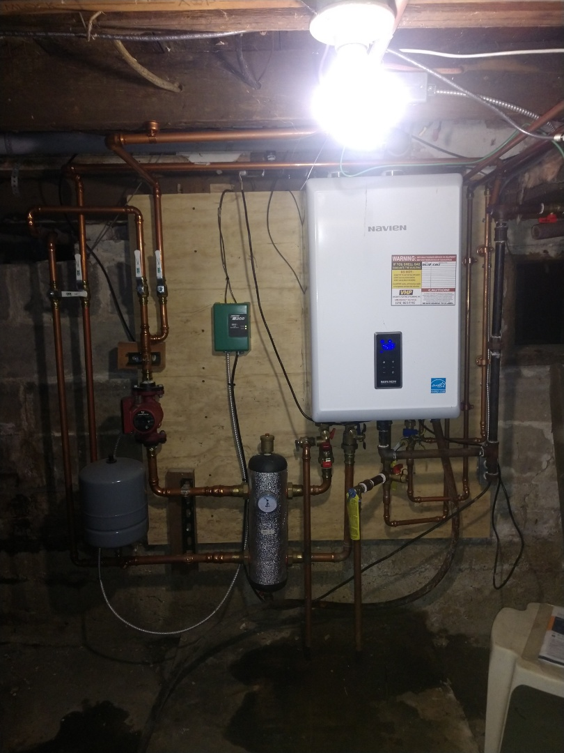 Marine City, MI - Navien boiler tune up