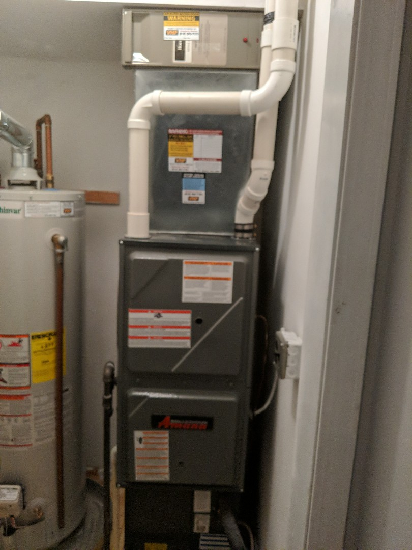 Marysville, MI - Repair on Amana furnace