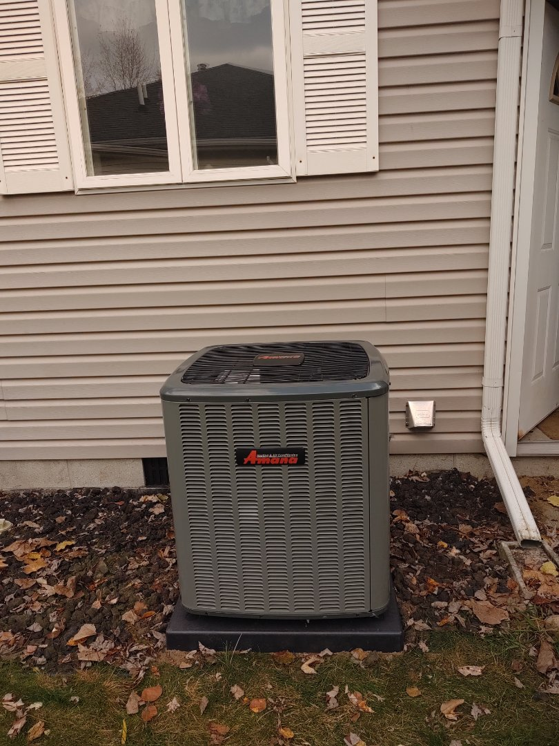 Fort Gratiot Township, MI - Installed new Amana AC and Furnace package