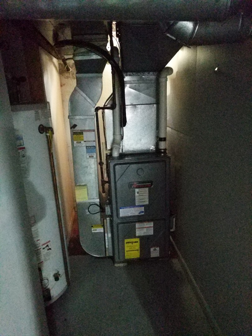 Marysville, MI - Amana furnace repair.