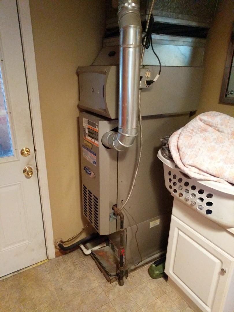 Ruby, MI - Carrier furnace repair.