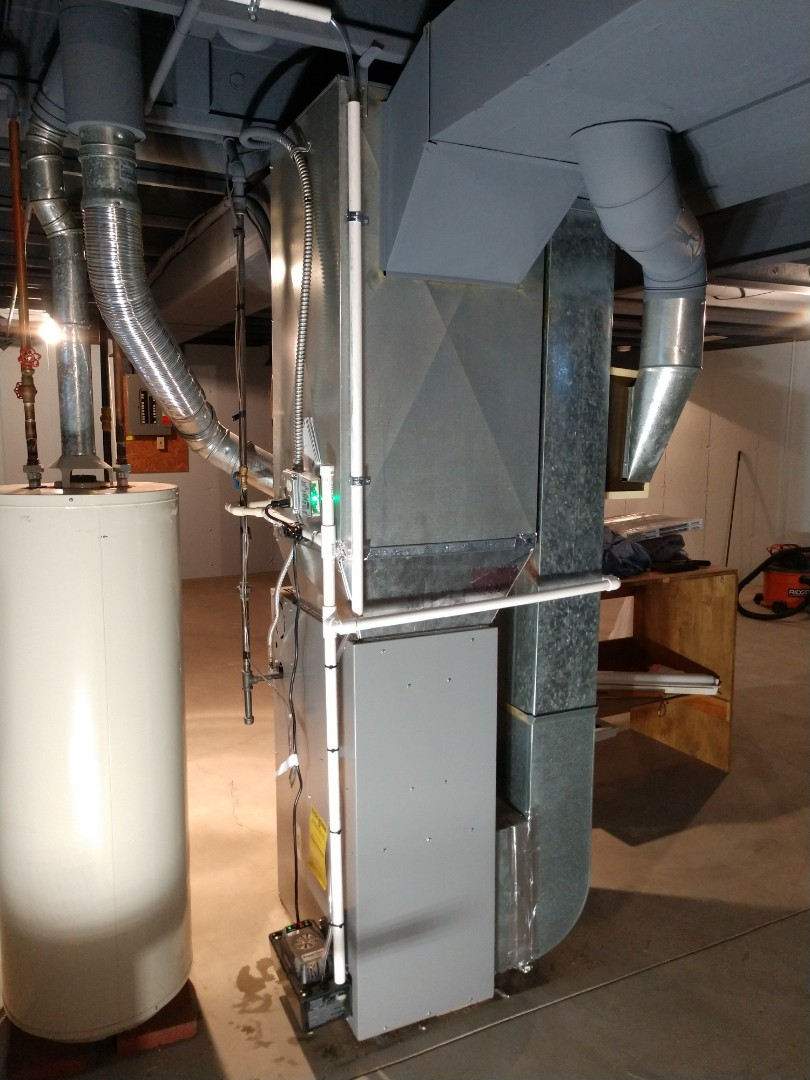 Saint Clair, MI - Furnace and AC installation
