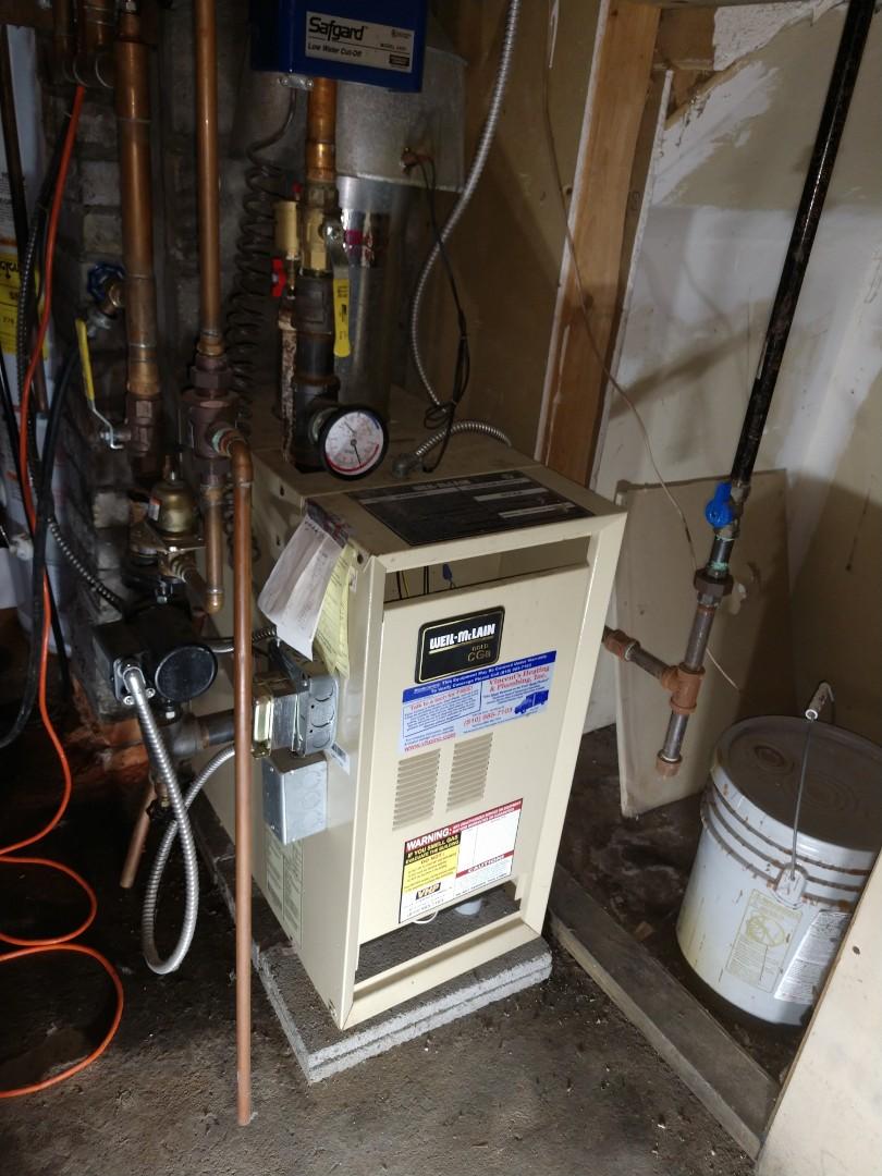 Lexington, MI - Weil McLain boiler repair