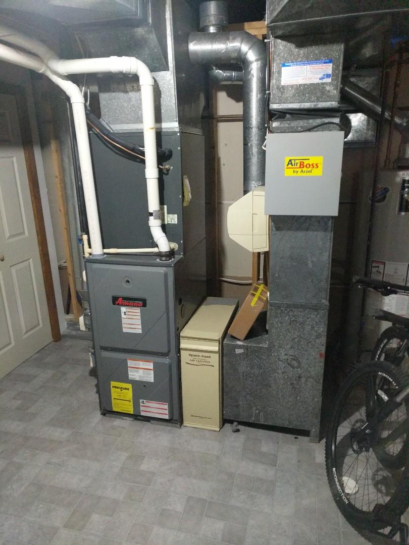 Marysville, MI - Amana furnace repair and tune up.