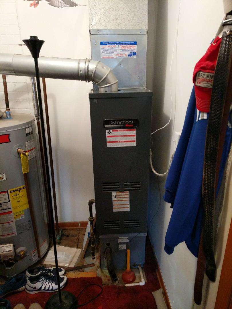 Memphis, MI - Amana furnace repair.