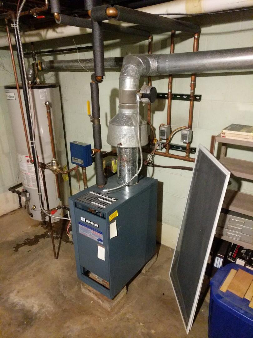 Memphis, MI - Boiler tune up and repair.