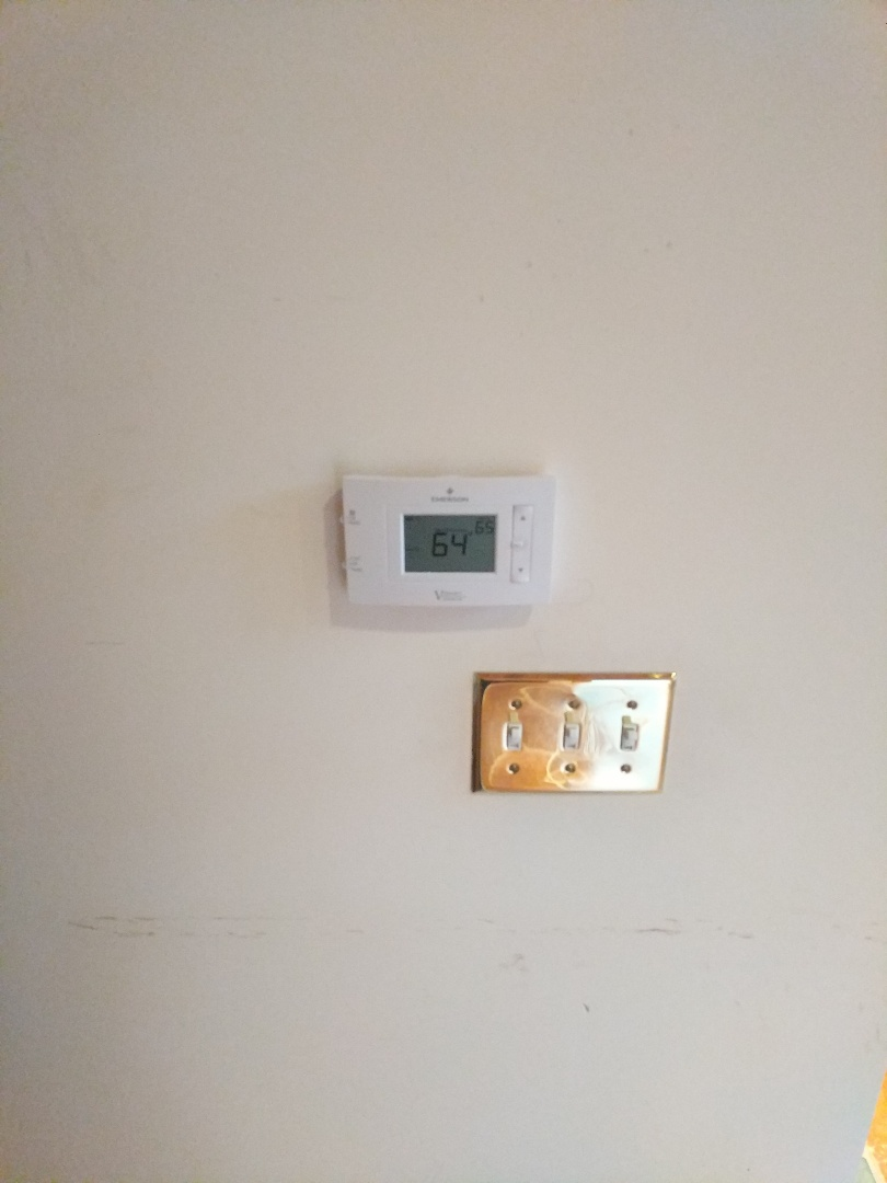 North Street, MI - Replace thermostat and filter.