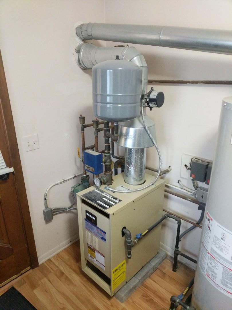 Marine City, MI - Weil McLain boiler repair.