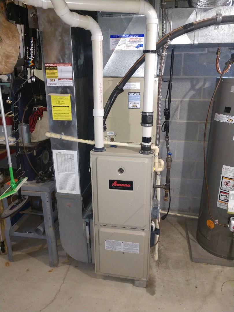 North Street, MI - Amana furnace tune up