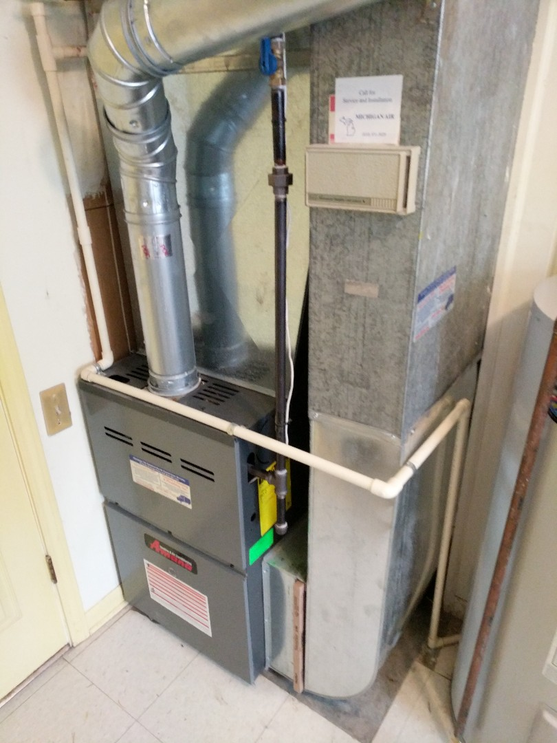 Fort Gratiot Township, MI - Furnace repair on Sunday afternoon.