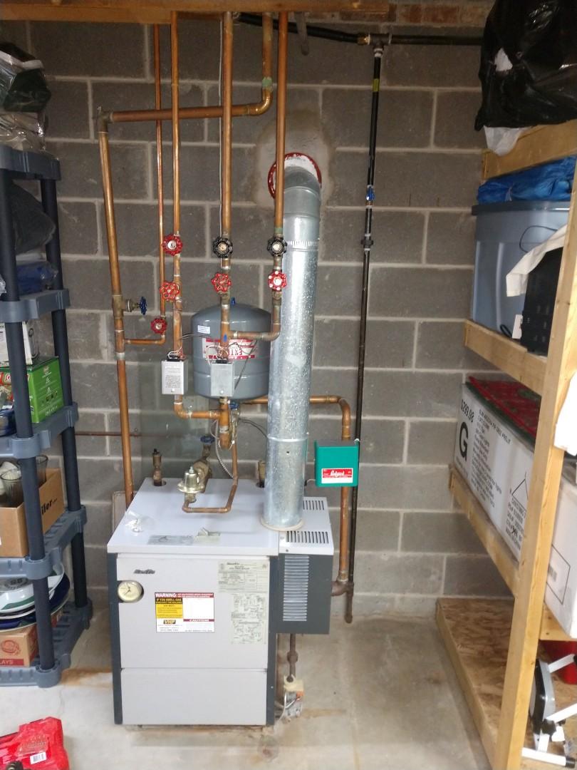 Memphis, MI - Slant fin boiler repair
