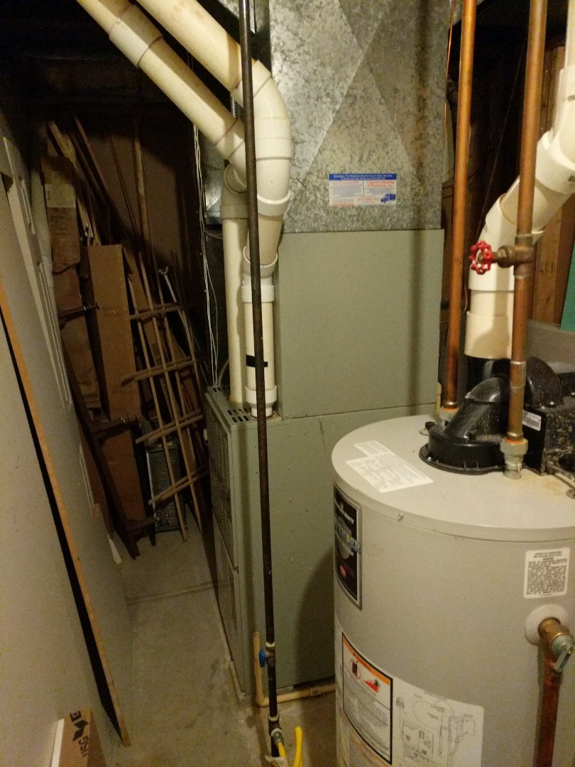 Fort Gratiot Township, MI - Tune up on American Standard furnace, and change filter and humidifier pad.