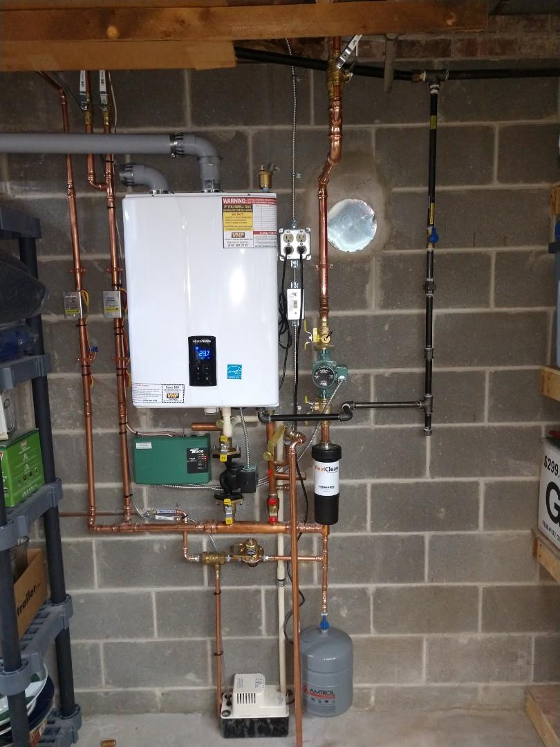 Memphis, MI - Navien boiler install