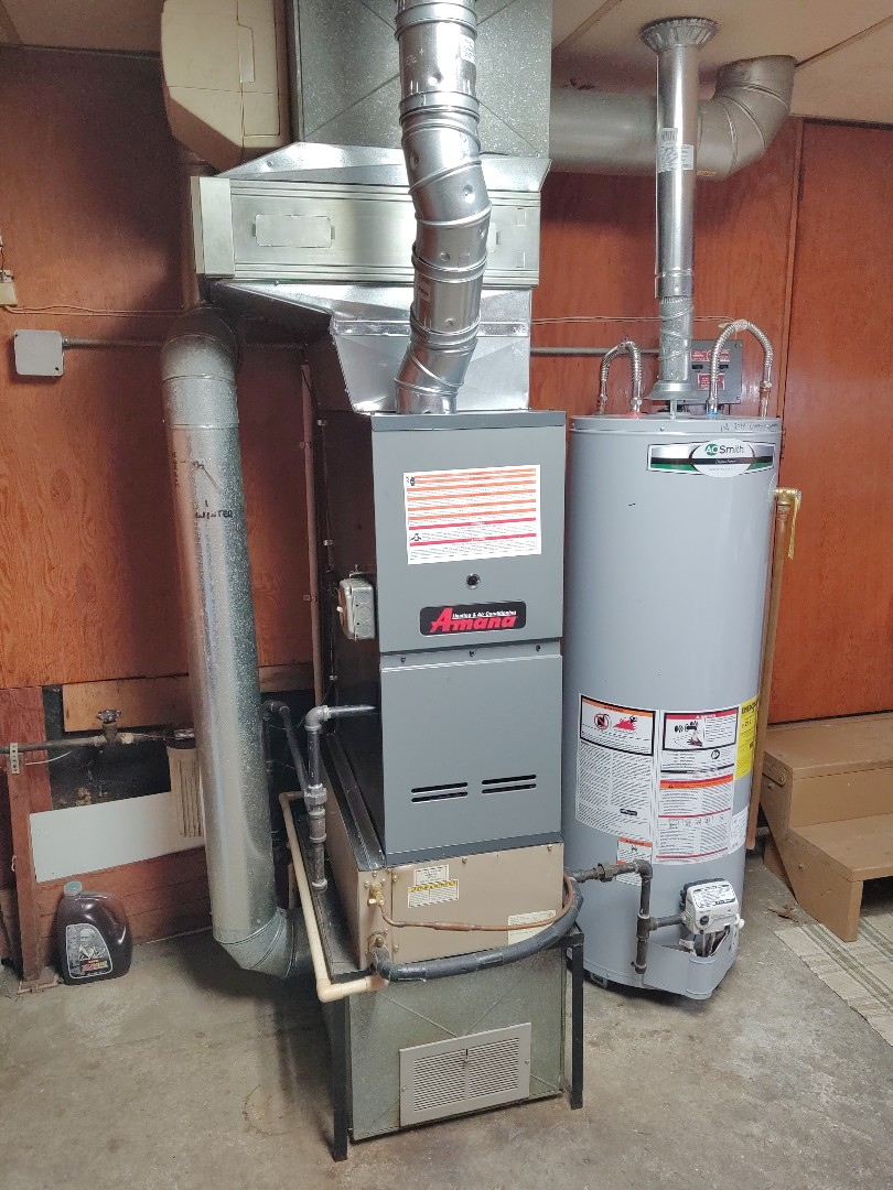 Fort Gratiot Township, MI - Installed new 80% Amana furnace