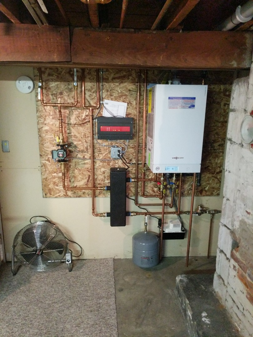 Marine City, MI - Viessmann boiler repair.