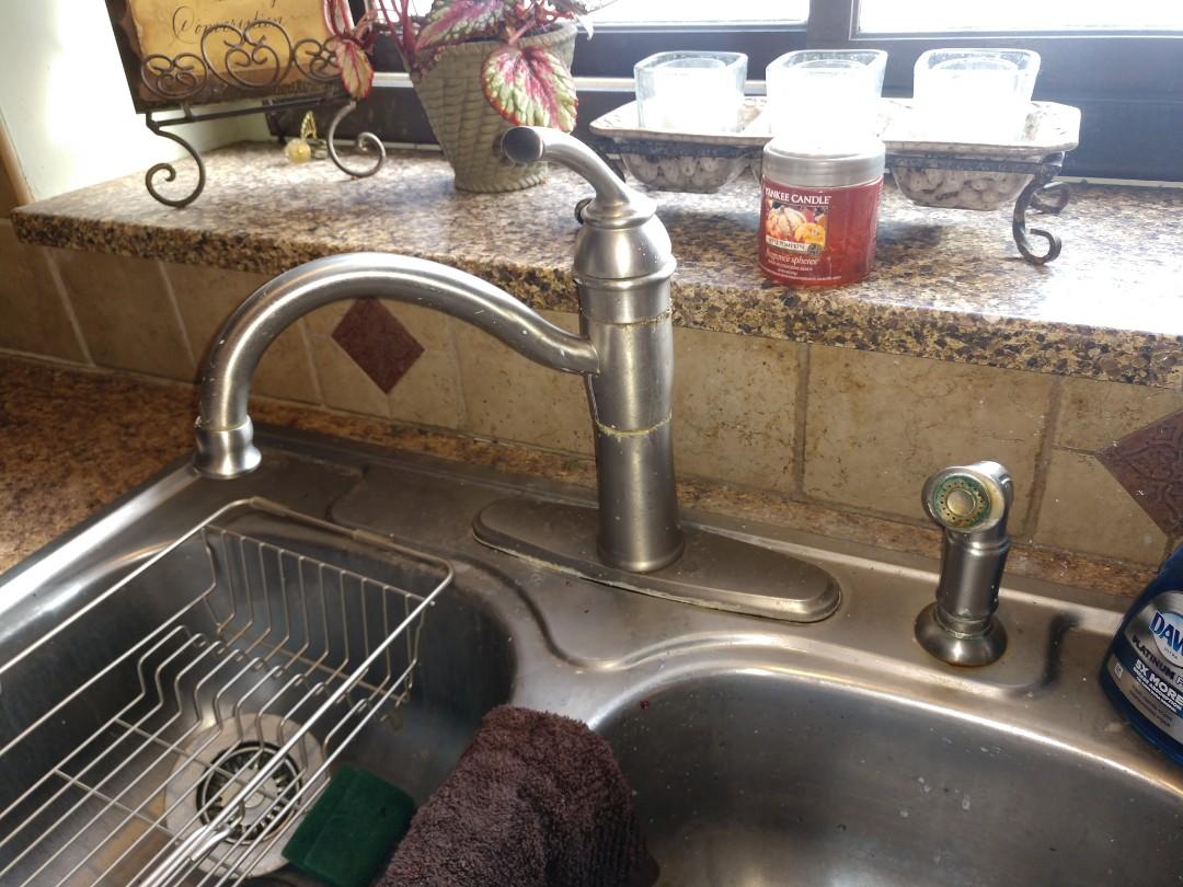 China Township, MI - Moen kitchen faucet repair