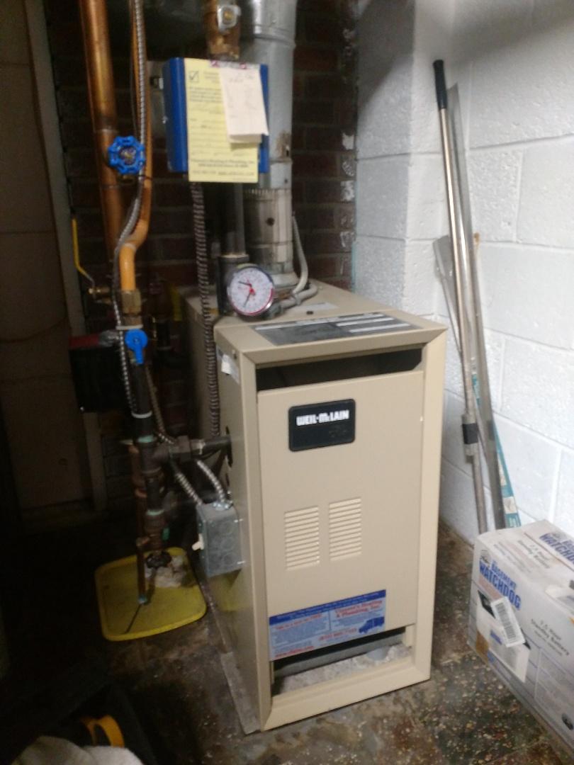 Capac, MI - Weiln-McLain boiler maintenance