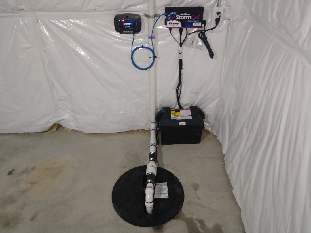 Saint Clair, MI - Premium sump pump battery back up wifi system