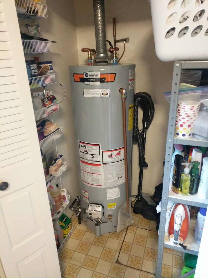 Marine City, MI - Relight water heater.